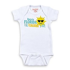 image of Sara Kety® Born in Florida Bodysuit in White