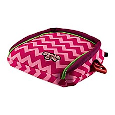 image of Bubblebum® Travel Car Booster Seat in Pink