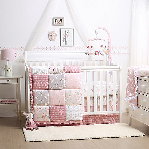 The Peanut Shell 174 Woodland Whimsy Crib Bedding Collection