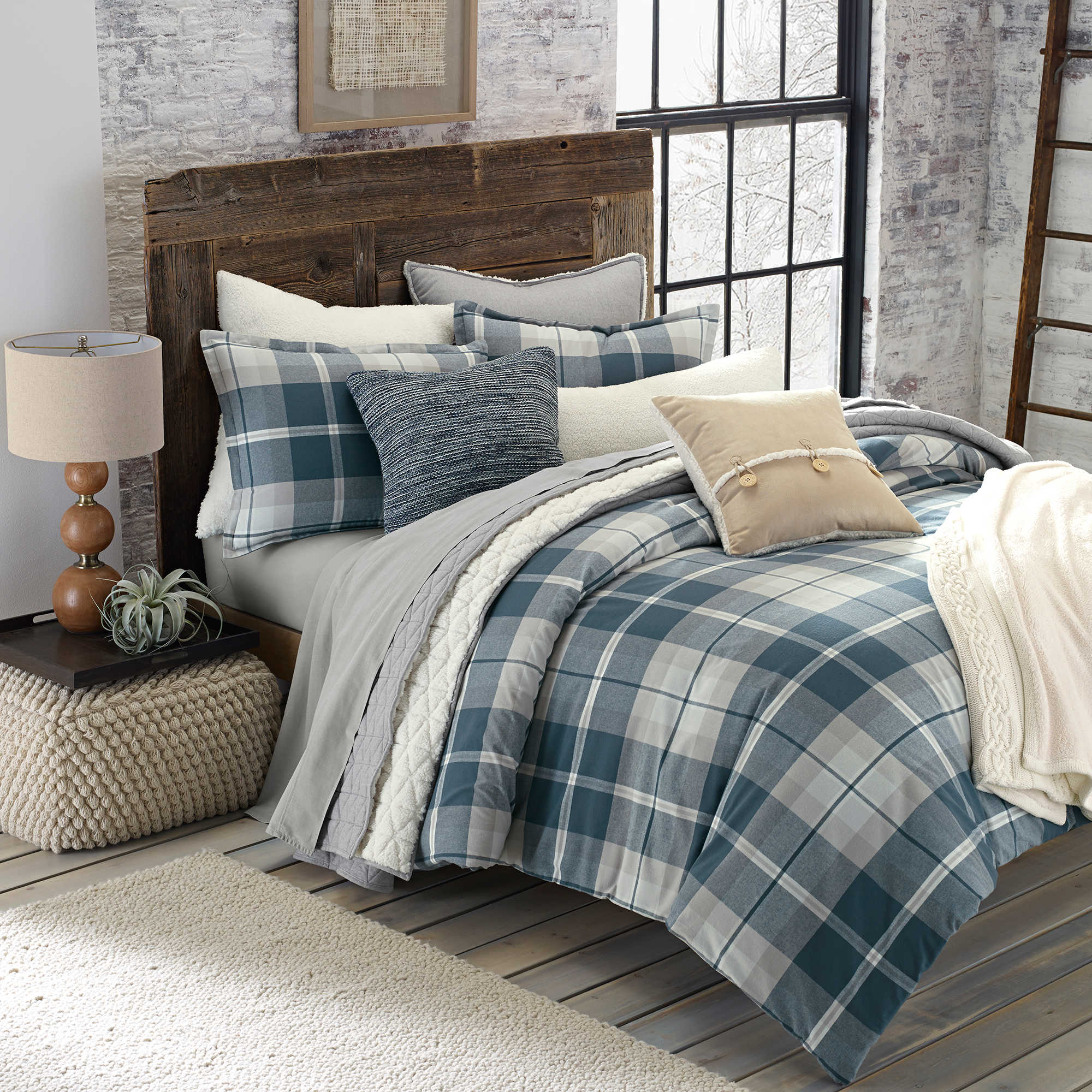 full size blue plaid twin navy tiffany comforter queen comforters
