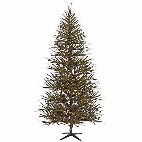 vickerman 10 foot pre lit artificial christmas tree with clear mini lights