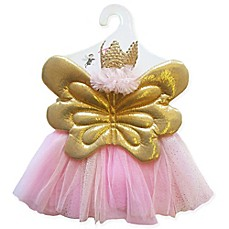 image of Toby 3-Piece Size 0-12M Sweet Butterfly Tutu, Wings and Headband Set in Pink