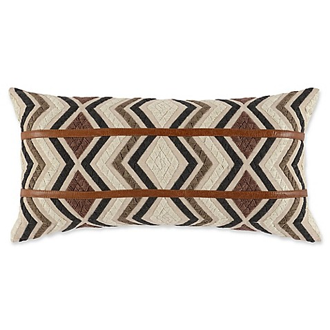 Villa Home Decorative Pillows : Buy Villa Home Alta Oblong Throw Pillow in Brown from Bed Bath & Beyond
