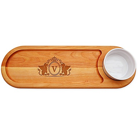 Carved Solutions Griffin 21-Inch x 7-Inch Everyday Dip & Serve Board