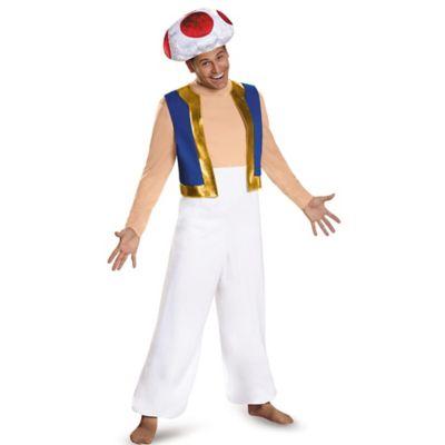 Super Mario Bros™ Toad Deluxe X-Large Adult Halloween Costume  sc 1 st  Bed Bath u0026 Beyond & Nintendo - Bed Bath u0026 Beyond