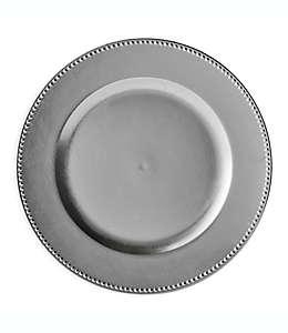 Platos base decorativos en plata, Set de 6