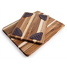 image of Architec Gripperwood™ Acacia Cutting Boards (Set of 2)