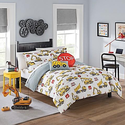 Nice Waverly Kids Under Construction Comforter Set