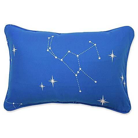 Waverly Kids Space Adventure Oblong Throw Pillow in Blue - Bed Bath & Beyond