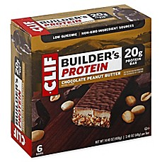 image of Clif Bar® Builder's® 6-Pack 2.4 oz. Chocolate Peanut Butter Protein Bar