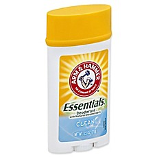 arm and hammer 25 oz essentials deodorant with natural deodorizers in clean