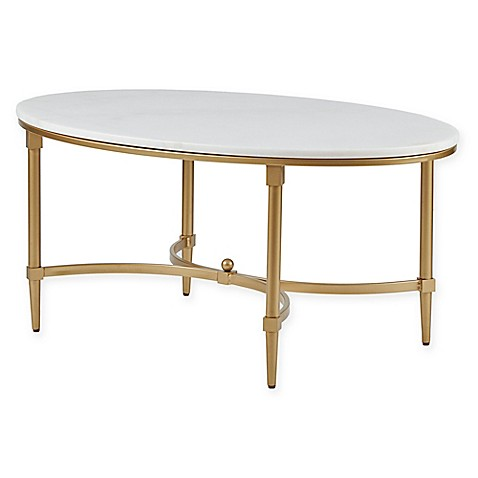 Madison Park Bordeaux Coffee Table In WhiteGold Bed Bath Beyond - Bordeaux coffee table