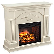 image of Southern Enterprises Sicilian Harvest Infrared Electric Fireplace