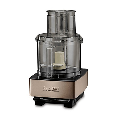 Cuisinart® 14-Cup Custom Food Processor in Umber