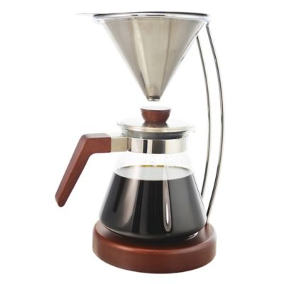 Bodum Pour Over Coffee Maker Bed Bath And Beyond : Buy Grosche Frankfurt Pour Over Coffee Maker from Bed Bath & Beyond