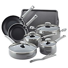 image of Rachael Ray™ Porcelain Enamel 12-Piece Cookware Set