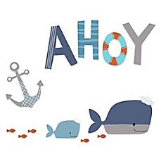 image of Lambs & Ivy® Ahoy Wall Decals
