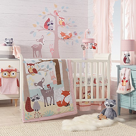 Lambs Amp Ivy 174 Little Woodland Forest Crib Bedding