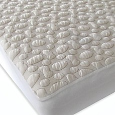 image of Forty Winks™  Aero-Weave Pebble-Puff™ Organic Cotton Crib Mattress Pad
