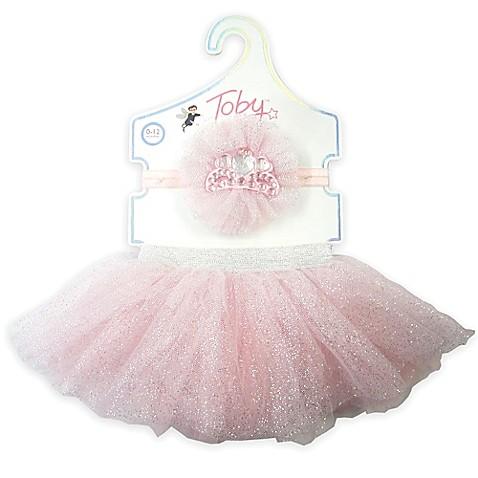 girls hair accessories toby newborn 2 piece tutu and