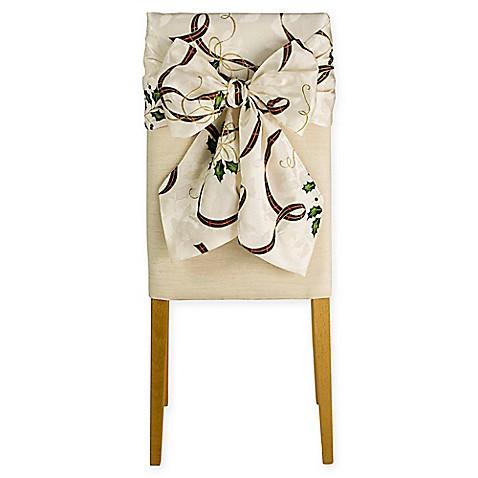 Lenox 174 Holiday Nouveau Chair Bows Set Of 2 Bed Bath