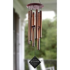 image of Loving Words To Her Wind Chimes