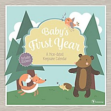 image of Baby's First Year Woodland Non-dated Wall Calendar