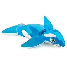 image of Intex® Lil Whale Ride-On Pool Float in Blue