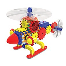 image of The Learning Journey Techno Gears Quirky Copter 80-Piece Construction Set