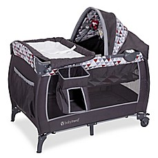 image of Baby Trend® Pyramid Deluxe Nursery Center in Grey