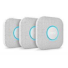 image of Nest® Battery Smoke and Carbon Monoxide Alarms (Set of 3)