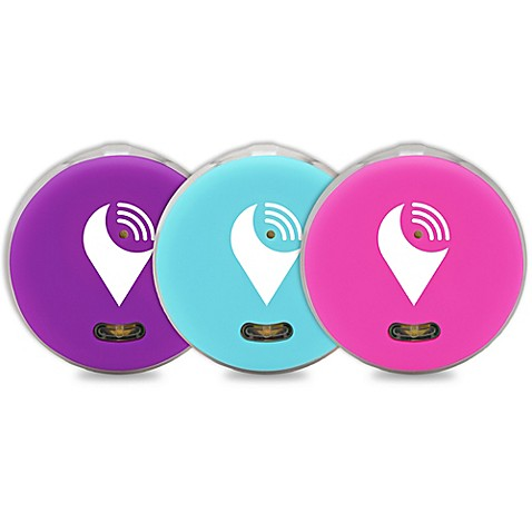 Trackr Pixel 3 Pack In Aqua Purple Pink Bed Bath Amp Beyond