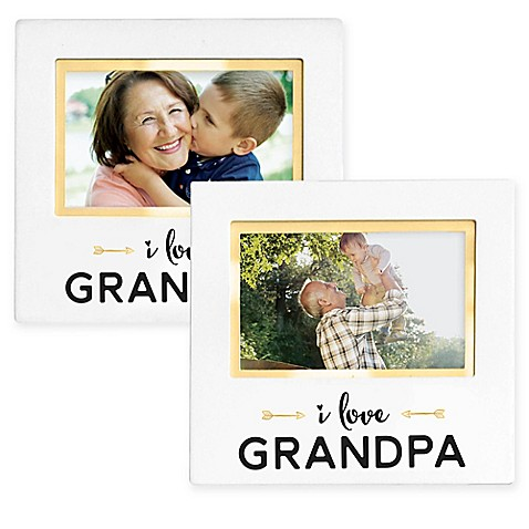 Pearhead® Grandparent Sentiment 4-Inch x 6-Inch Photo Frame - buybuy ...