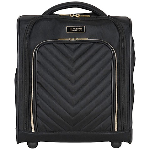 Kenneth Cole Reaction Kenneth Cole Reaction Womens Chelsea Underseater Carry-on Luggage, Black