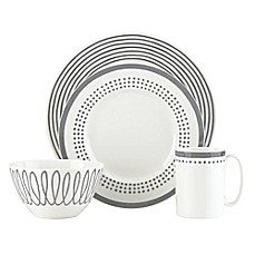 image of kate spade new york Charlotte Street™ East Dinnerware Collection in Slate