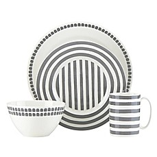 image of kate spade new york Charlotte Street™ North Dinnerware Collection in Slate