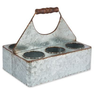 image of Gerson Six-Pack Metal Beer Caddy