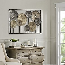 Captivating Art Metal Dandelions Wall Decor