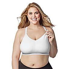 image of Bravado Designs Original Full Cup Nursing Bra in White