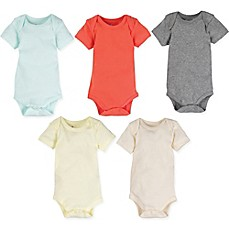 image of MiracleWear 5-Pack Baby Basic Bodysuits