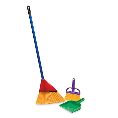 Little Helper 3 Piece Broom Set Buybuy Baby