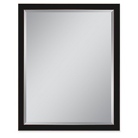 Buy Metal Frame 30 Inch X 40 Inch Rectangular Wall Mirror In Oil Rubbed Bronze From Bed Bath