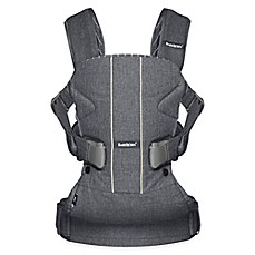 image of BABYBJÖRN® Carrier One Air Baby Carrier in Pinstripe/Grey