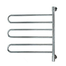 image of Amba Swivel Wall Mount Plug-In Towel Warmer with 6 Bars