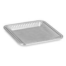 image of Wilton Armetale® Flutes and Pearls 12-Inch Square Tray