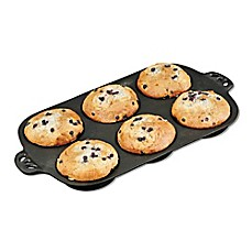 image of Camp Chef 6-Cavity Cast Iron Muffin Top Pan
