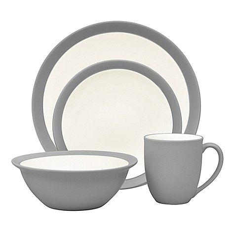 Noritake® Colorwave Curve Dinnerware Collection in Slate - Bed Bath ...