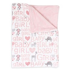 image of Thro Cory Safari Printed Fleece Baby Throw