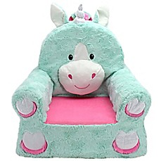 image of Sweet Seats™ Unicorn Soft Chair in Teal