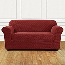 image of sure fit marrakesh loveseat slipcover